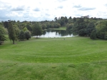 View from the amphitheatre at Claremont Landscape Gardens